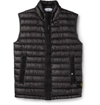 Stone Island Micro Ripstop Down Filled Gilet Blue