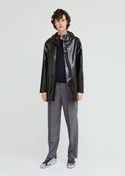 Stutterheim Stockholm Opal Raincoat Black