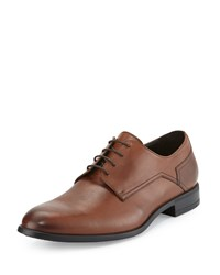 Bruno Magli Maitland Leather Lace Up Oxford Brandy