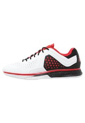 Adidas Performance Adizero Counterblast 7 Volleyball Shoes Crystal White Vivid Red Core Black