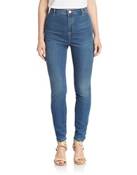 Dittos High Rise Skinny Jeans Blue