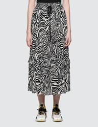 Mcq By Alexander Mcqueen Fluid Long Skirt