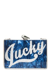 Kotur Merrick Lucky Clutch Blue