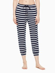 Kate Spade Modal Terry Relaxed Sweatpant Sailing Stripe