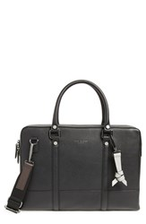 Ted Baker London Awol Leather Document Bag Black
