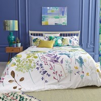Bluebellgray Botanical Duvet Set Green