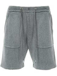 Guild Prime Knitted Shorts Grey