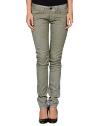 Cellar Door Denim Pants Military Green