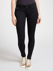 Tommy Hilfiger Denim Mid Rise Skinny Fit Jeans Dana Black Stretch