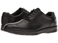 Z Zegna Hybrid Calf Neoprene Derby Black Men's Shoes