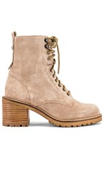 Seychelles Irresistible Boot In Tan. Sand Suede