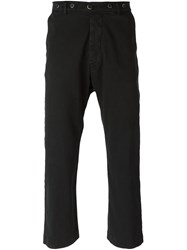 Barena Cropped Trousers Blue