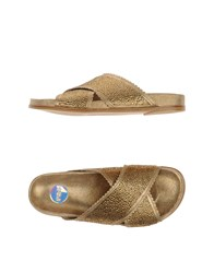 Ras Footwear Sandals Women Gold