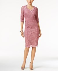 Thalia Sodi Lace Empire Sheath Dress Only At Macy's Mesa Rose