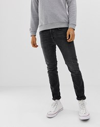 Selected Homme Skinny Fit Jeans In Black Wash