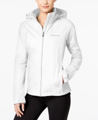 Columbia Switchback Ii Omni Shield Water Repellent Jacket White