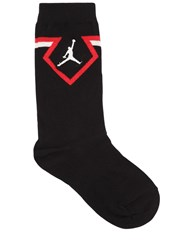 Nike Jordan Legacy Diamond Crew Socks Black