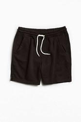 Urban Outfitters Uo Lucian Knit Volley Short Black