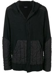 Andrea Ya'aqov Padded Hooded Jacket Black