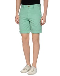 Closed Trousers Bermuda Shorts Men Beige