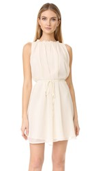 Cupcakes And Cashmere Zooey Trapeze Dress Ivory