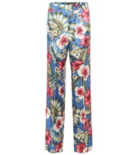 F.R.S For Restless Sleepers Carite Silk Blend Pajama Pants Multicoloured