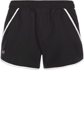 Under Armour Fly Sports Shorts Black White Reflective