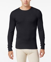 Alfani Men's Waffle Thermal Top Only At Macy's Black