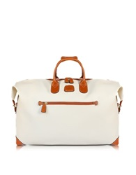 Bric's 22 Boarding Duffle Bag Cream