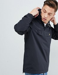 Lyle And Scott Lightweight Overhead Jacket In Black