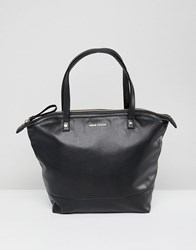 Armani Exchange Black Square Tote Bag Multi