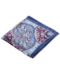 Club Room Paisley Pocket Square Only At Macy's Berry