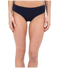 Dkny Street Cast Solids Hipster Bottom Currant Women's Swimwear Red