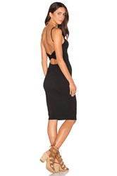 Rachel Pally Twist Back Bodycon Dress Black
