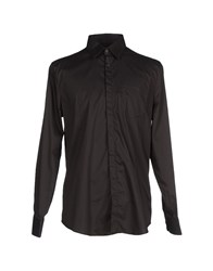 Trussardi Jeans Shirts Shirts Men Black