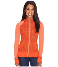 Marmot Callie Hoodie Kashmir Women's Sweatshirt Orange