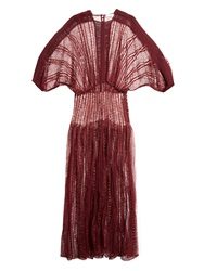 Zimmermann Rhythms Lace And Links Gown