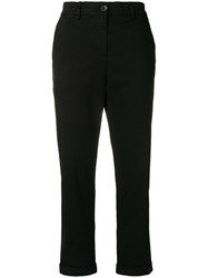 Paul Smith Ps By Slim Fit Turn Up Trousers Black