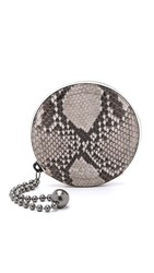 Rag And Bone Printed Coin Case Fawn Python