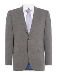 Chester Barrie Men's 3 Ply Worsted Grey Suit Jacket Smoke