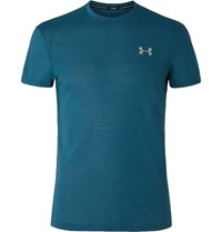 Under Armour Streaker 2.0 Microthread T Shirt Blue