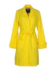 313 Tre Uno Tre Coats And Jackets Full Length Jackets Women Yellow