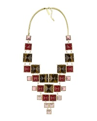 Kendra Scott Maddox Statement Necklace Red Chariot