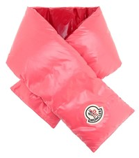 Moncler Down Scarf Pink