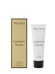 Miller Harris 75Ml Lumiere Doree Hand Cream Transparent