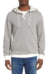 Rvca Men's Capo 3 Hoodie Natural Black