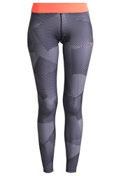 Mizuno Phenix Tights Black Charcoal