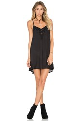Amuse Society Silva Mini Dress Black