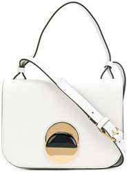 Marni Pois Cross Body Bag Women Calf Leather One Size White