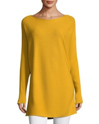 Lafayette 148 New York Ribbed Matte Crepe Dolman Pullover Riesling